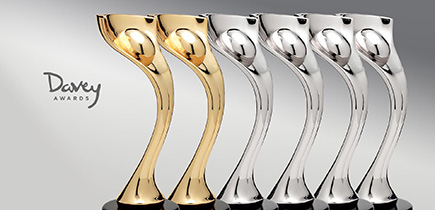 Nucleus wins an array of silvers in the Davey Awards